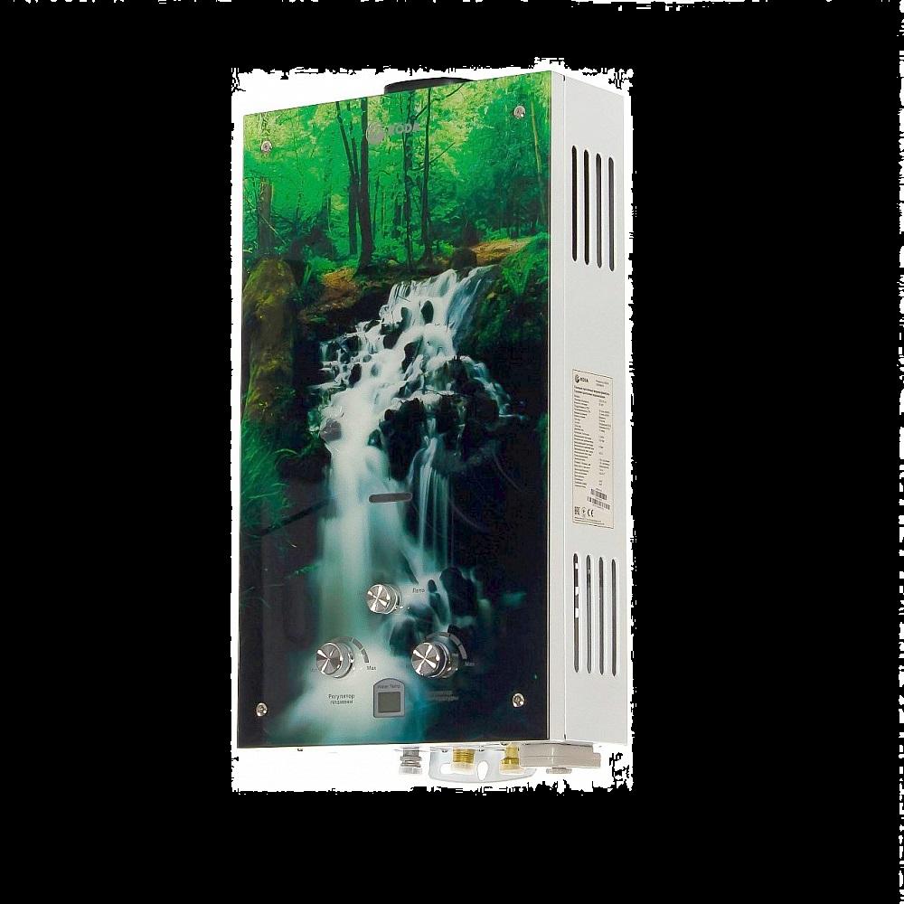 """Газовий проточний водонагрівач RODA JSD20-A4 """"Водоспад""""  зображення 1"""