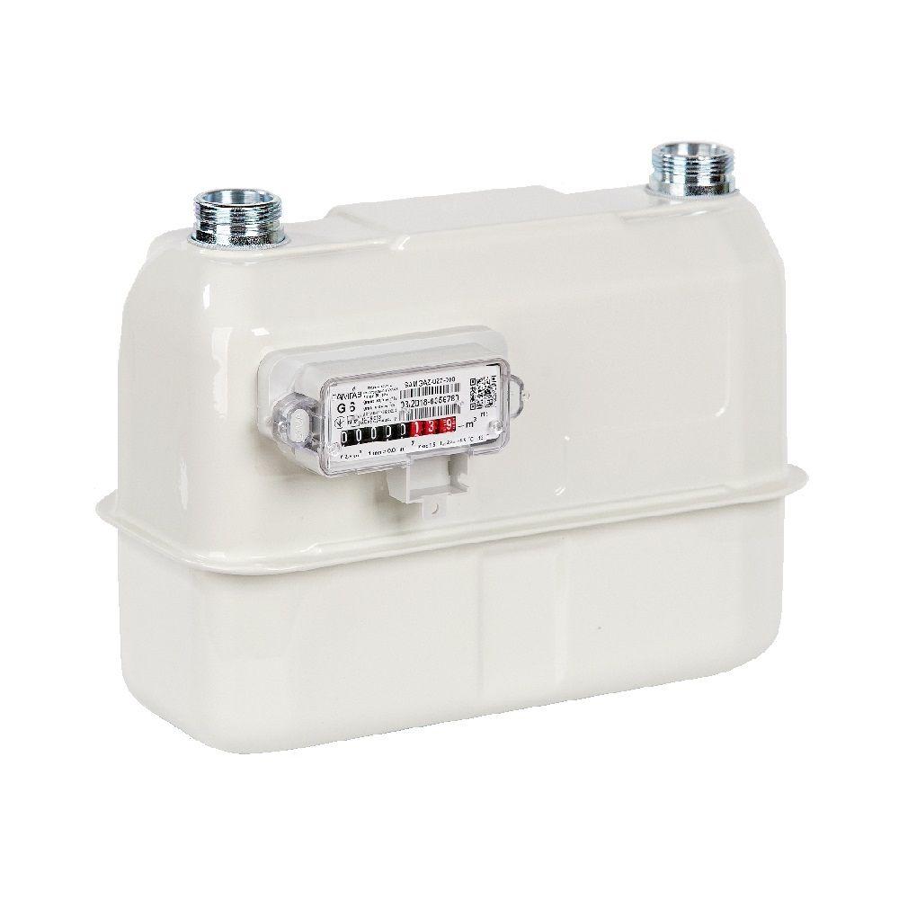 Лічильник газовий Самгаз RS/2.4 Р G6 DN32/250 (зліва направо)  зображення 1