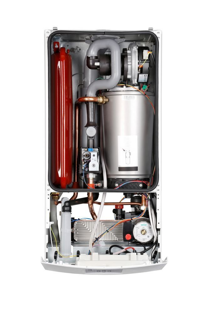 Газовий котел BOSCH Gaz Condens 2500 W WBC 28-1 DC  зображення 2