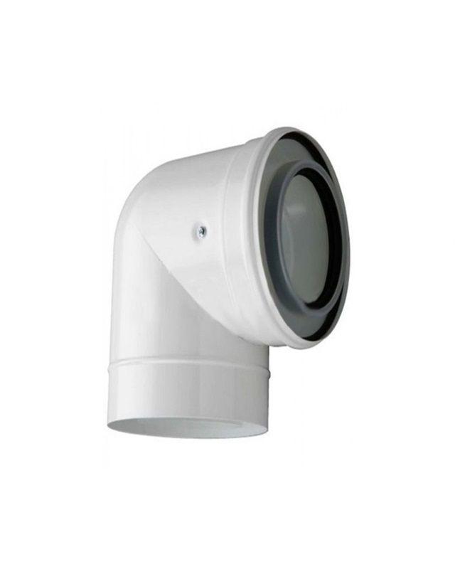 Bosch AZB 619 Відвід 90°, Ø80 (7719001534)  зображення 1