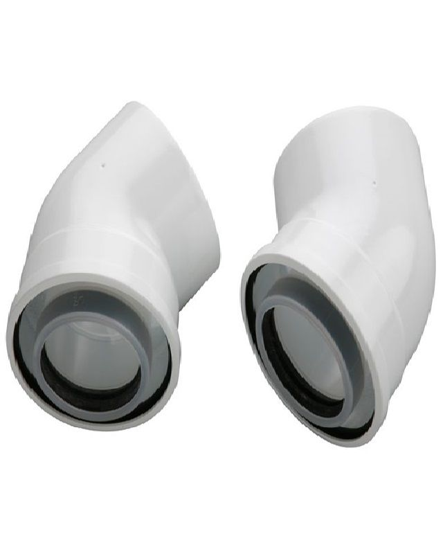 Bosch AZB 911 Коаксіальний відвід 45°, DN 60/100 мм (7719002781)  зображення 1