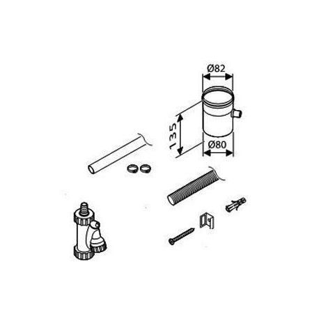 Bosch AZ 412 Збірник для конденсату (7736995103)  зображення 1