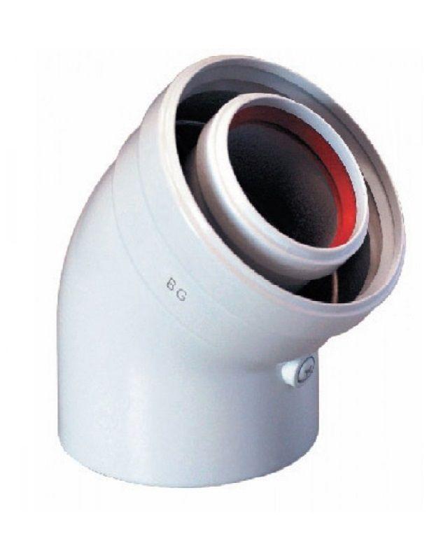 Bosch AZ 408 Відвід 45°, Ø80 (7736995106)  зображення 1