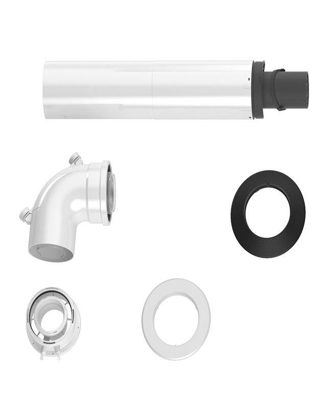 Bosch FC-Set60-C13x Основний комплект C13x (горизонтальний), DN 60/100, 1200 мм  (7738112495)  зображення 1