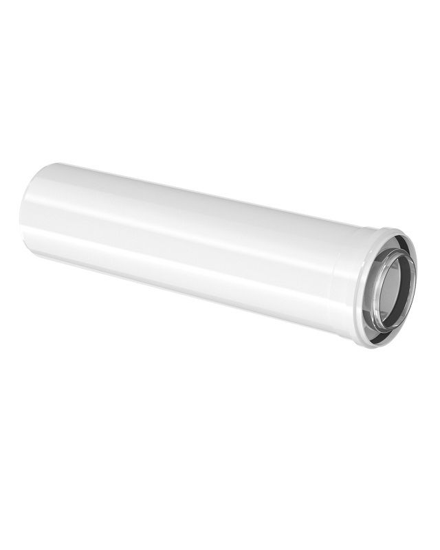 Bosch FC-C80-1000  Коаксіальний подовжувач, DN 80/125, 1000 мм  (7738112646)  зображення 1