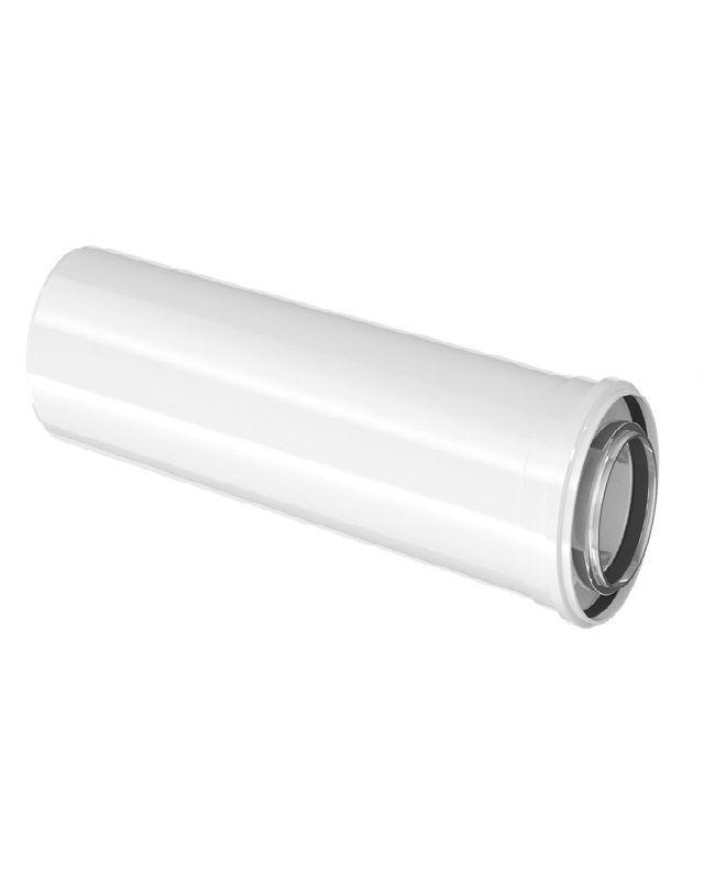 Bosch FC-C80-2000 Коаксіальний подовжувач, DN 80/125, 2000 мм  (7738112647)  зображення 1