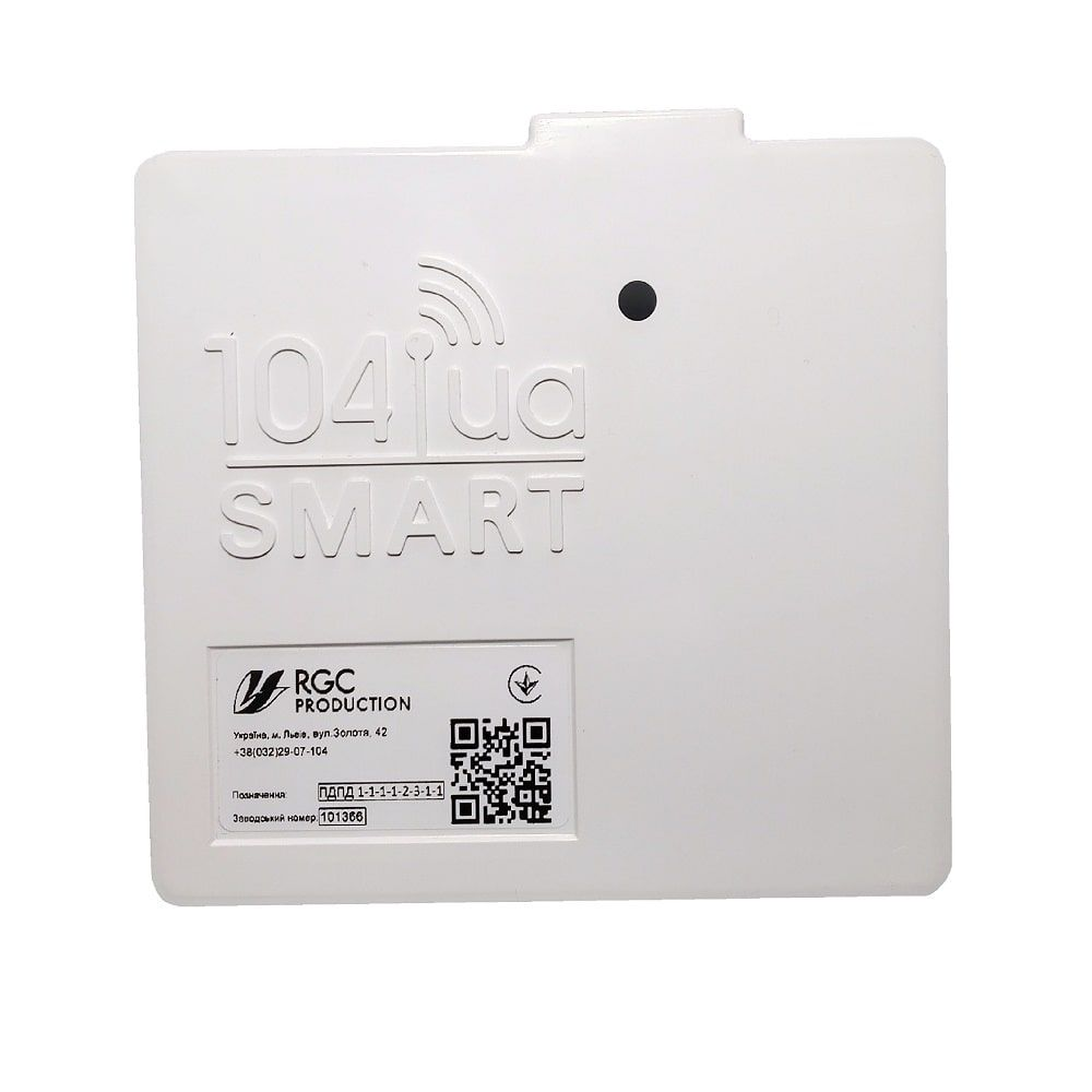 Модем 104UA SMART для счетчиков Pietro Fiorentini G1,6-G4 с внешней антенной  изображение 1