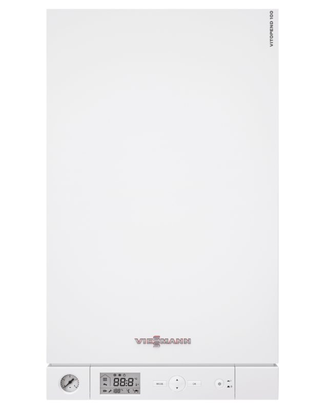 Газовий котел Viessmann Vitopend 100-W 11,4-29,9 кВт (A1HB005)  зображення 1