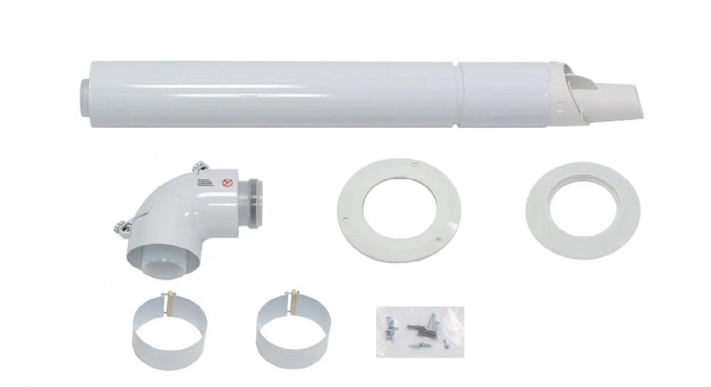 Комплект для горизонтального проходу крізь стіну 60/100 РР (для конденсаційних котлів Vaillant 0020219516)  зображення 3
