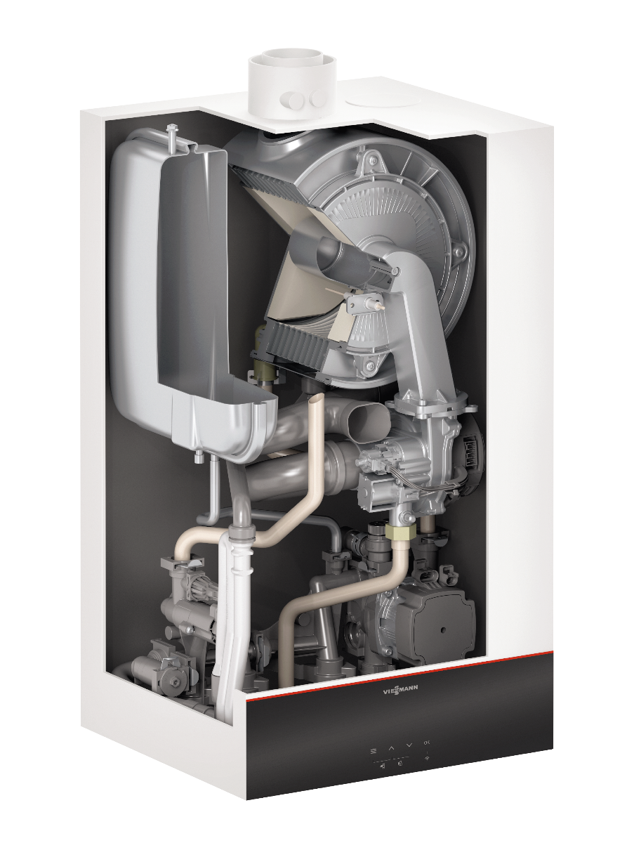 Газовий котел Viessmann Vitodens 111-W B1LF-M 35 кВт (Z020641)  зображення 2