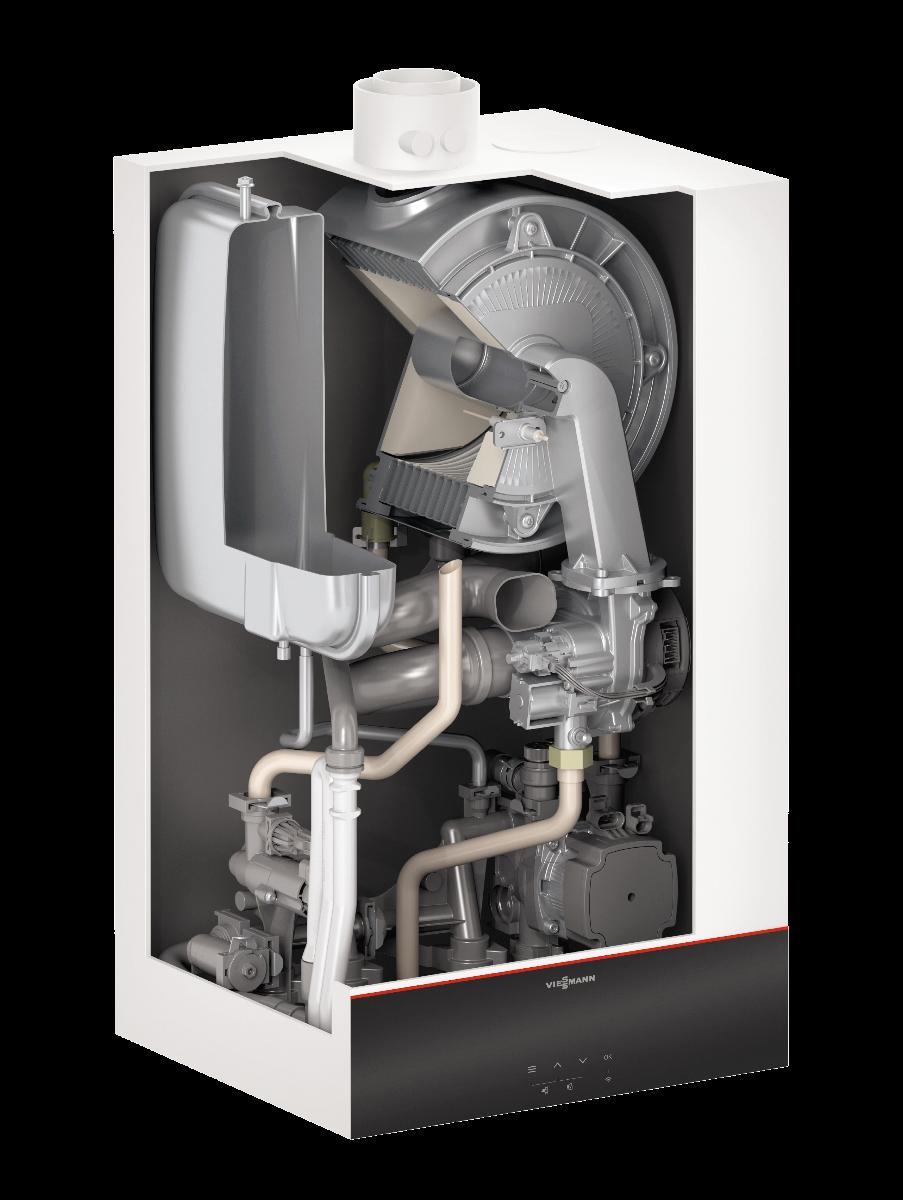 Газовий котел Viessmann Vitodens 111-W B1LF 35 кВт (Z023145)  зображення 2