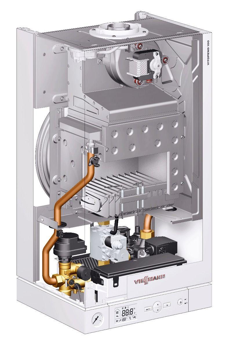Газовий котел Viessmann Vitopend 100-W 11,4-29,9 кВт (A1HB005)  зображення 4